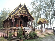Wat Tha Sai Temple in Thai Muang district, Phang Nga
