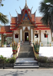 Wat Traiman Kasathit, Khok Kloi, near Natai beach, Phang Nga